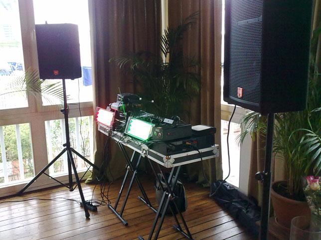 Аппаратура: звук и свет