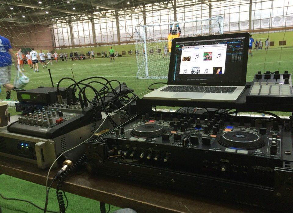 DJ на спортивный праздник